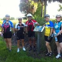 Elaine leads riders to 7 parks in one ride